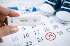 ¿Sabes cuál es el calendario para quedar embarazada?